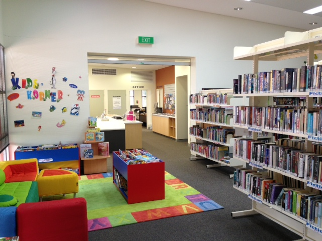 Image showing library and kids activity corner