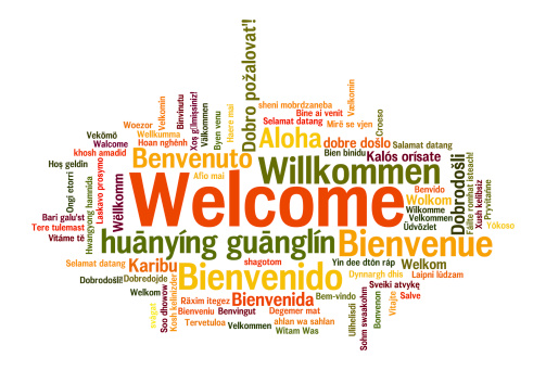 Word 'Welcome' in different languages
